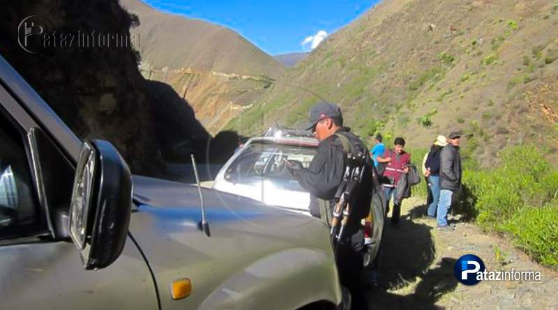 LA LIBERTAD | Asaltan camioneta en la ruta Pataz – Trujillo, se llevan 6 mil