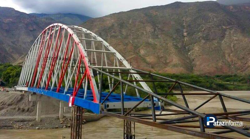 LA LIBERTAD | Puente Calemar sobre río Marañón ya está casi listo