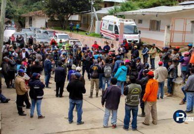HUAYLILLAS | Población acata paro contra empresa minera Caravelí