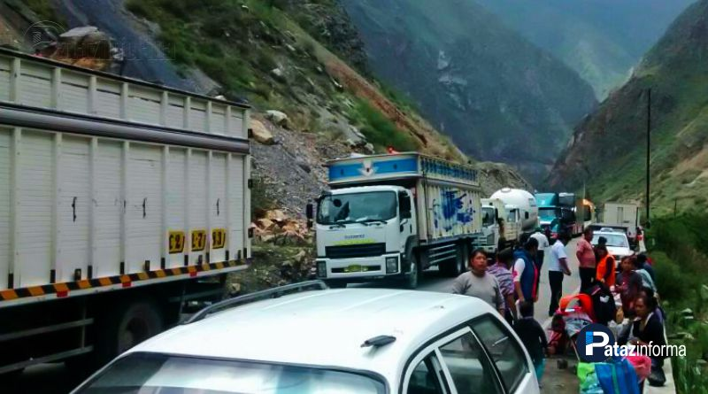 LA LIBERTAD | Hoy cierran pase en la ruta Retamas – Huamachuco