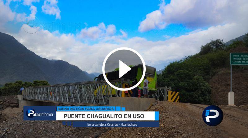 LA LIBERTAD | Puente en la vía Retamas – Huamachuco está en uso