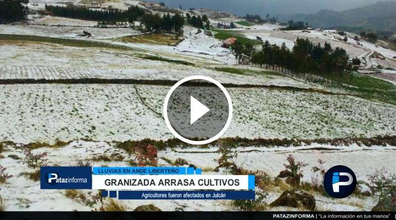 LA LIBERTAD | Granizada arrasó con campos de cultivos en el ande