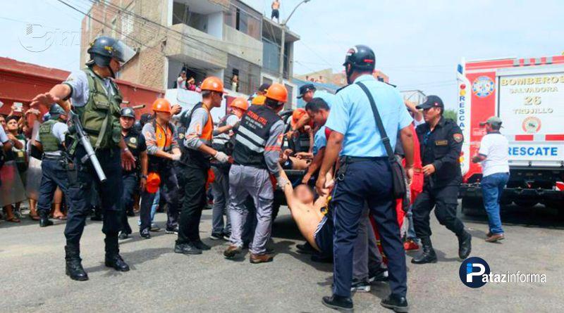LA LIBERTAD | Incendio en Trujillo deja 5 muertos y más de 29 heridos