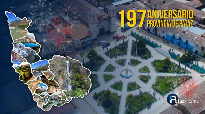 TAYABAMBA | Pataz celebrará su 197 aniversario como provincia