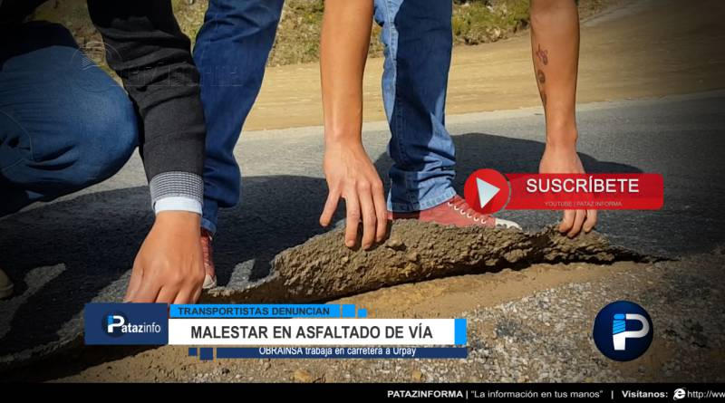 usuarios-muestran-malestar-mientras-continua-asfaltado-urpay