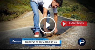 usuarios-muestran-malestar-mientras-continua-asfaltado-via-urpay