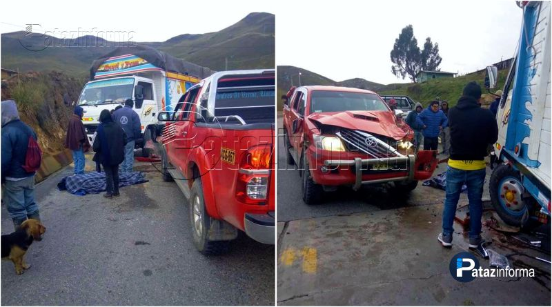 LA LIBERTAD | Accidente tránsito deja un muerto en sierra liberteña
