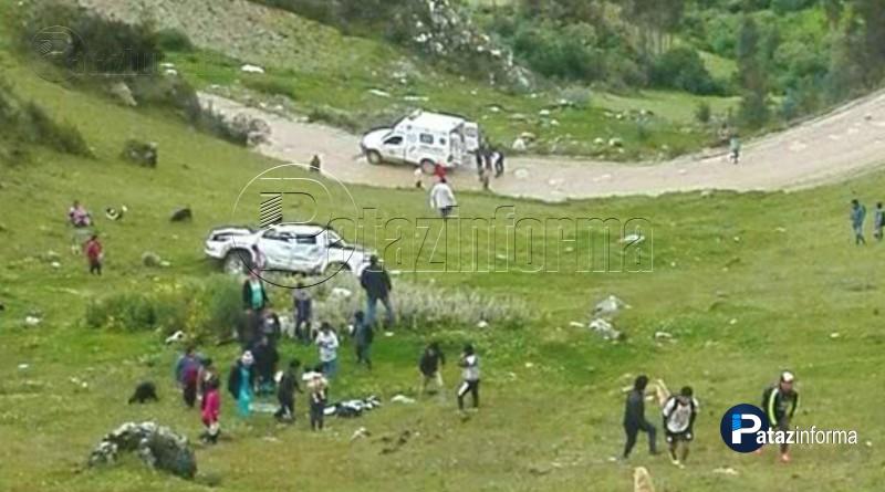 LA LIBERTAD | Accidente deja muertos y heridos en la sierra liberteña