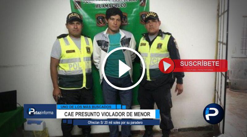 LA LIBERTAD | Capturan a uno de los más buscados rumbo a Retamas