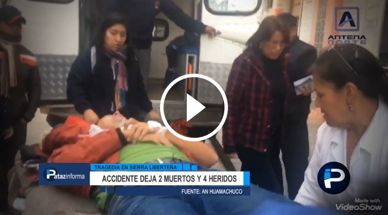 LA LIBERTAD | Identifican víctimas de carro que volcó rumbo a Pataz
