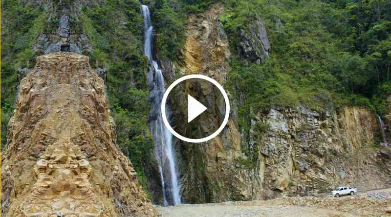 ONGÓN   Chorro de Pampaseca, atractivo turístico en selva de La Libertad