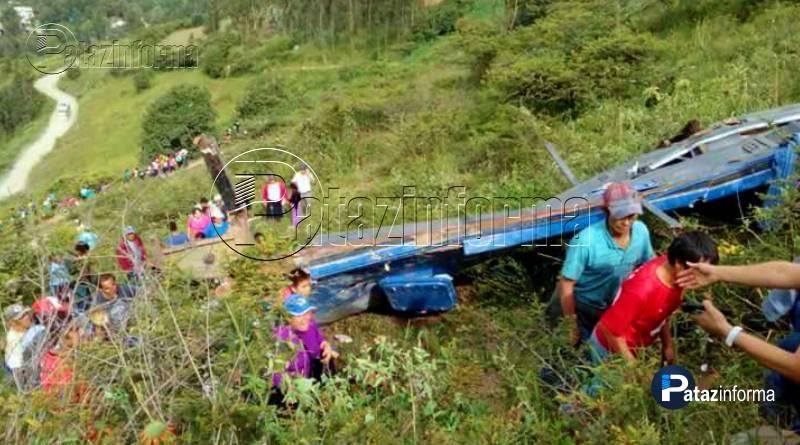 LA LIBERTAD | Bus cayó a abismo y dejó varios fallecidos y heridos