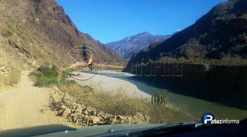 PATAZ | Cierre total de la vía Chagual – Vijus por mantenimiento