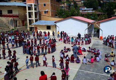 PATAZ | Escolares participaron de I Simulacro Nacional Escolar 2018
