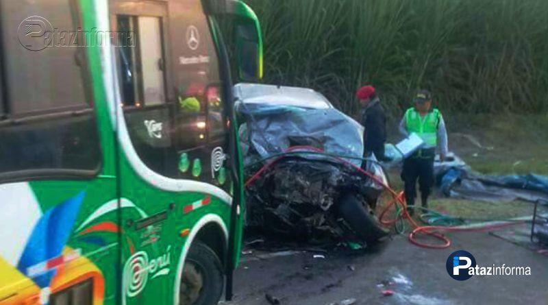 LA LIBERTAD   Enfermera y 2 choferes murieron tras violento choque