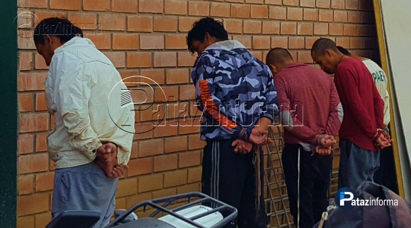 TAYABAMBA | Capturan presuntos secuestradores de Alcalde Provincial