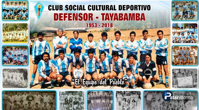 TAYABAMBA | Club Defensor cumple 65 años de vida institucional