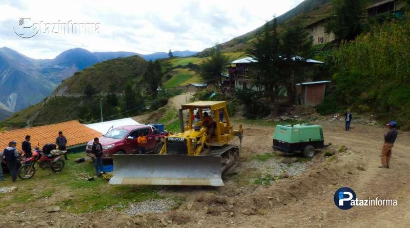 TAYABAMBA | Construyen vía a Shihuanto con proyección a Tocache