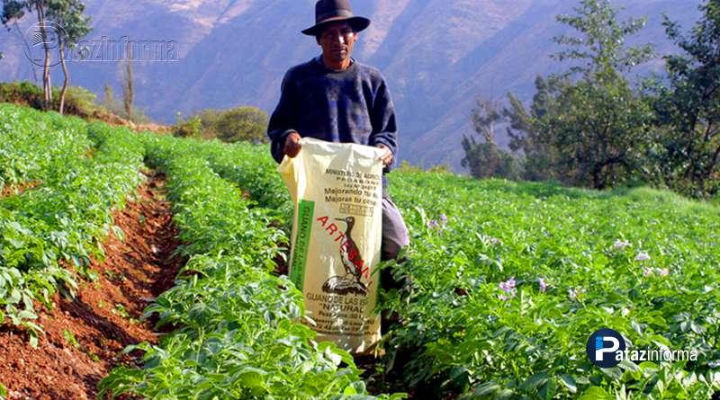 TAYABAMBA | Instalarán almacén de Guano de Isla para agricultores