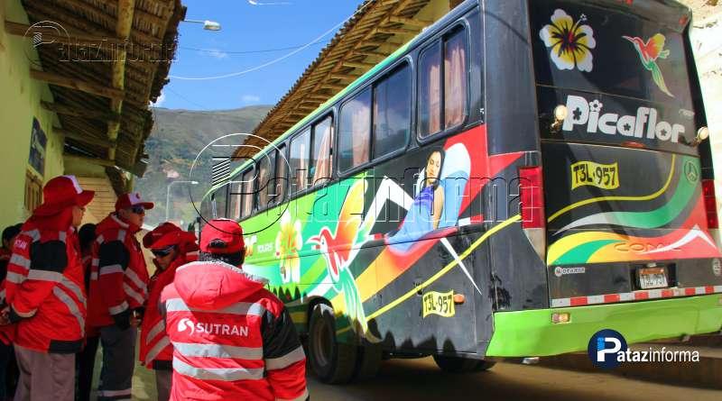 sutran-llego-tayabamba-pataz-supervisar-servicio-transporte-pasajeros