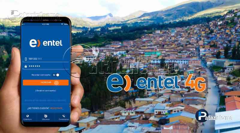 TAYABAMBA | Entel brinda servicio de telefonía móvil e internet en 4G