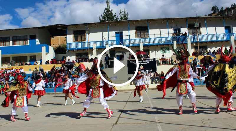 TAYABAMBA | Con festival de danzas finalizó aniversario de Instituto
