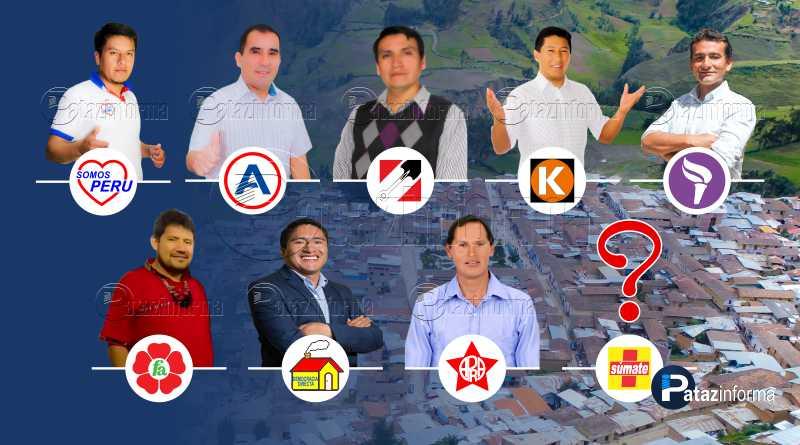 TAYABAMBA | Admiten listas de candidatos a sillón municipal  provincial