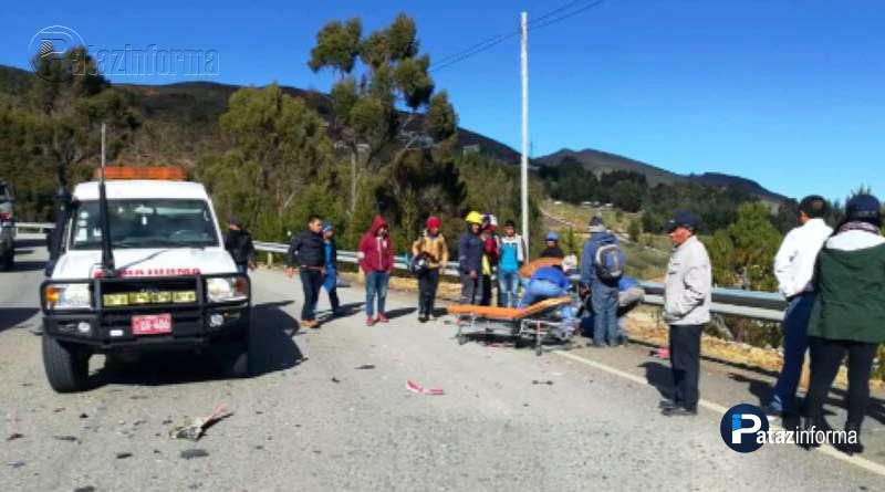 LA LIBERTAD   Racha de accidentes no paran en carreteras de la sierra