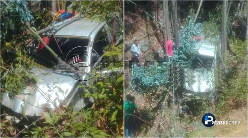 LA LIBERTAD   Camioneta sufrió aparatoso accidente y dejó 06 heridos