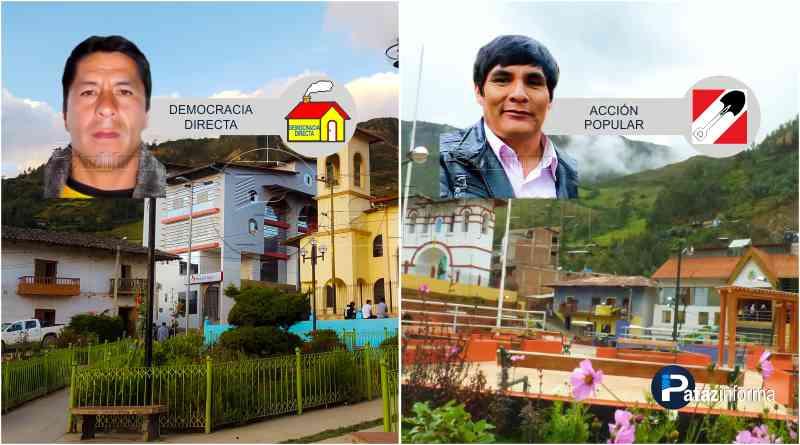 TAYABAMBA | CANDIDATOS a los distritos de CHILIA y PARCOY ¡SÍ VAN!