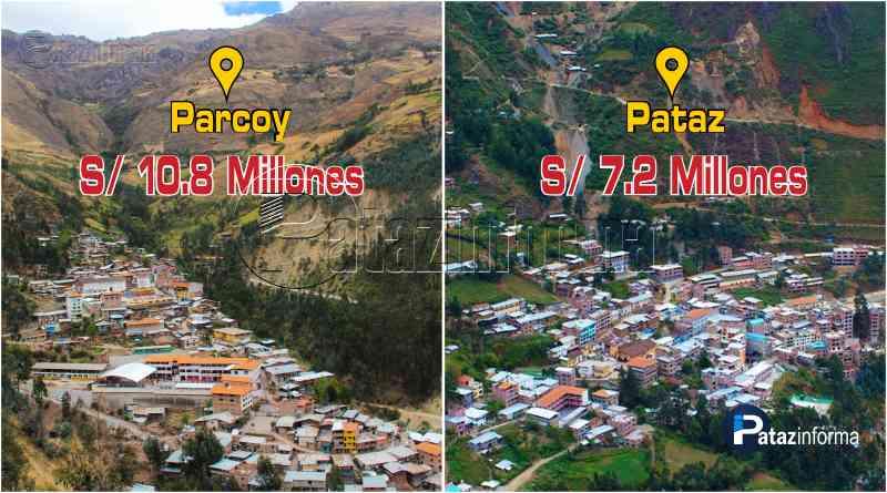 LA LIBERTAD | Parcoy y Pataz en ranking distritos con mayor canon minero
