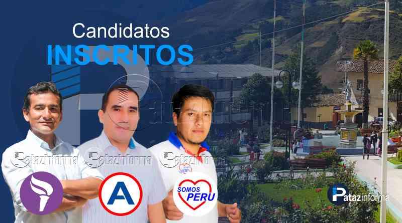 TAYABAMBA | 03 candidatos a la alcaldía provincial en carrera electoral