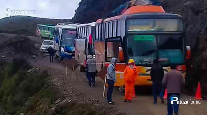 TAYABAMBA | Desde mañana no ingresarán vehículos por la zona sur