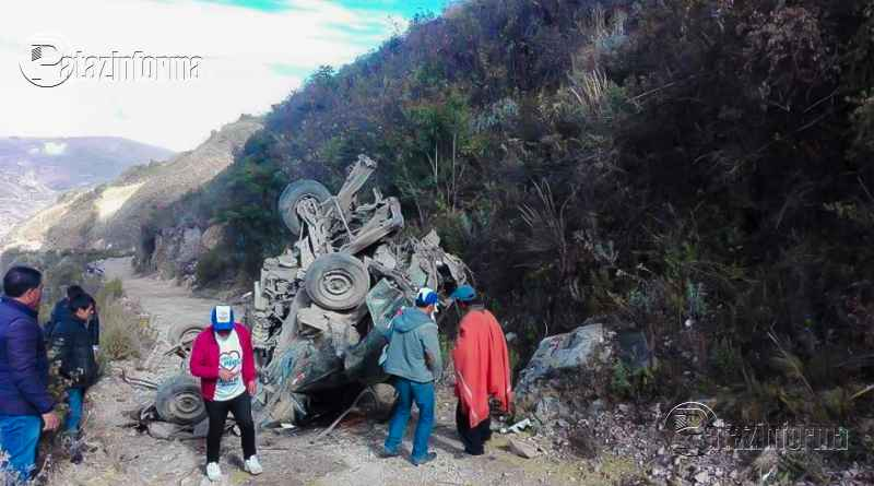 PERÚ | Fatal accidente en carretera San Marcos dejó 3 personas fallecidas
