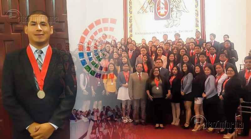 PATAZ   Joven patacino juramentó como parlamentario joven de La Libertad