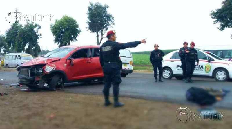 LA LIBERTAD | Trágico accidente de tránsito dejó un muerto y 3 heridos