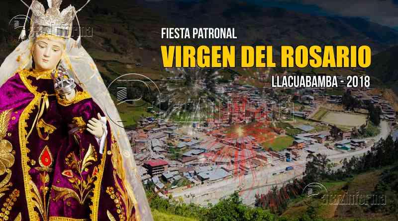 con bombos y platillos llacubamba parcoy celebrara fiesta virgen del rosario