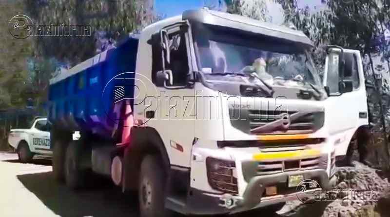 LA LIBERTAD | Delincuentes roban carro con mineral que viajaba de Pataz