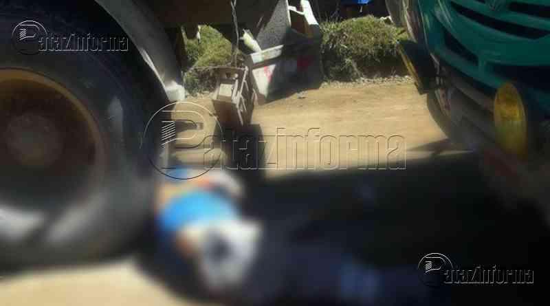 LA LIBERTAD | Bus de la empresa Sandrita arrolló a trabajador de OBRAINSA