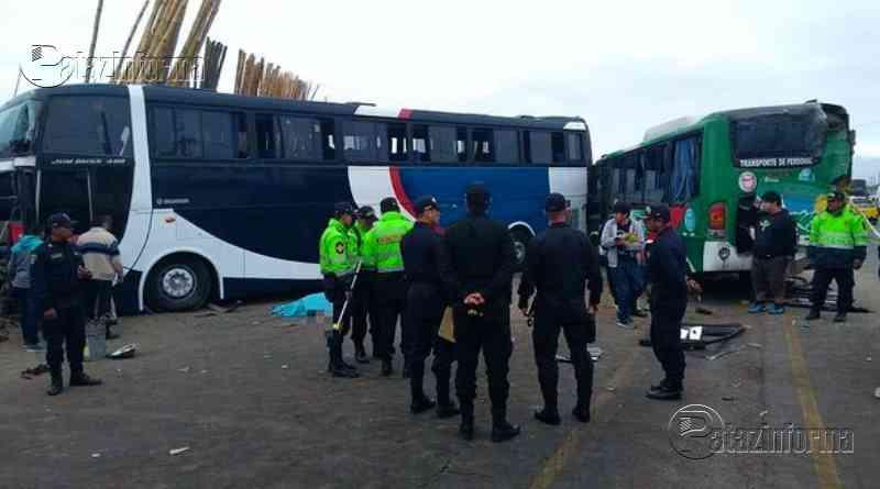 LA LIBERTAD | Múltiple choque dejó como saldo un muerto y varios heridos