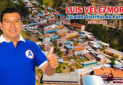 PARCOY   Distrito parcoyano ya cuenta con nuevo alcalde periodo 2019 – 2022