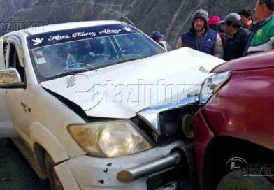 PATAZ   Violento choque frontal se registró en carretera Tayabamba – Huaylillas
