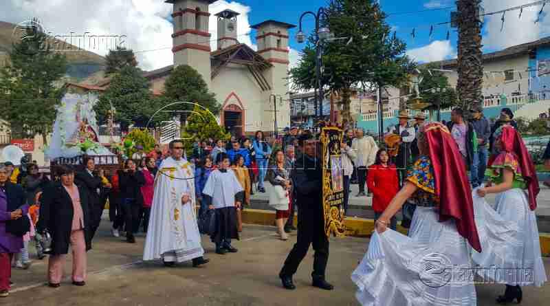 TAYABAMBA | Devotos inician celebración de fiesta a la Virgen de la Puerta