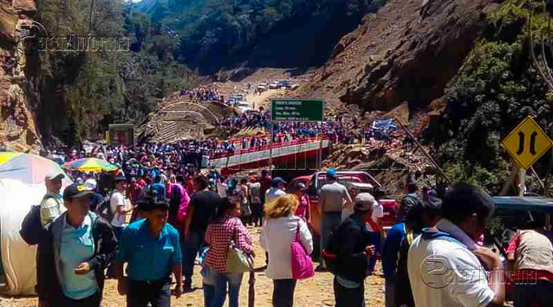 TAYABAMBA | Pataz y Tocache quedaron unidos por la ruta Marcos – Shunté