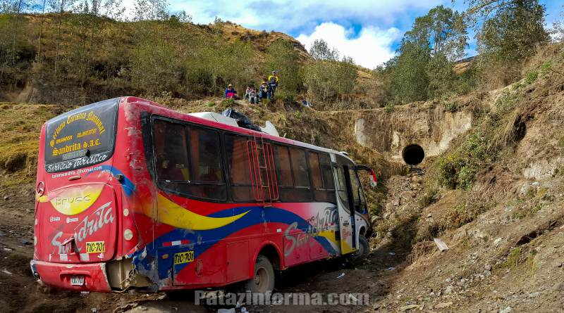 11 heridos deja accidente de tránsito en Tayabamba