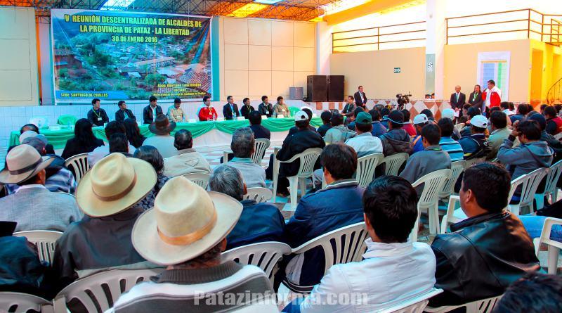 Alcaldes de Pataz y Bolívar alistan movilización ante GRLL