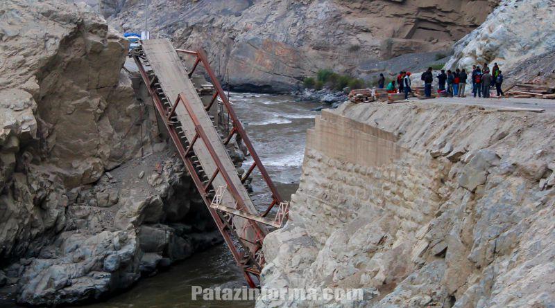 Caída de Puente Chuquicara obliga viajar más horas