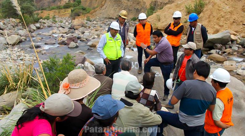 Más de un millón para Sistema de Riego en Huaylillas