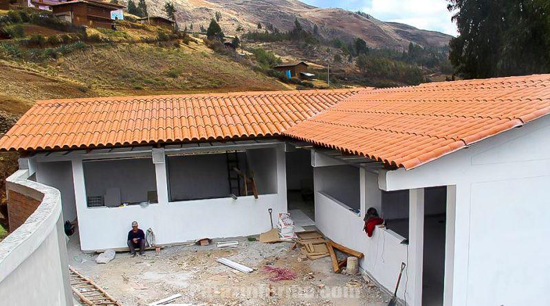 Local educativo de Huanapampa con avance del 90%