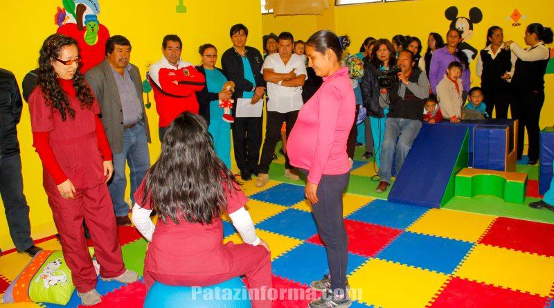 Hospital implementa área de Estimulación Temprana
